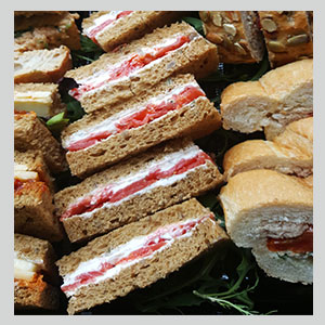 Sandwiches from London catering