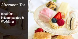 afternoon tea caterers in London