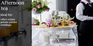 afternoon tea catering for london parties