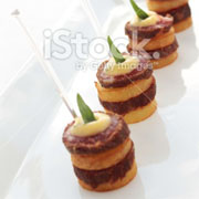 hot elegant canapes london