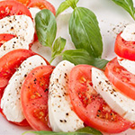 caprese cold fork buffet