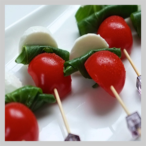 cold canapes caterers
