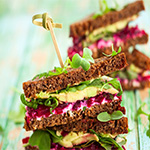 sandwiches healthies for finger buffet