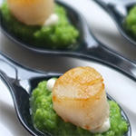 chicken chimichurri hot canapes