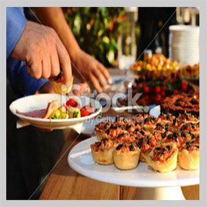 cold buffet catering london