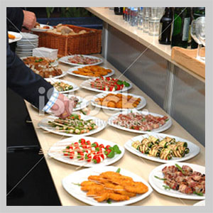 finger buffet catering london