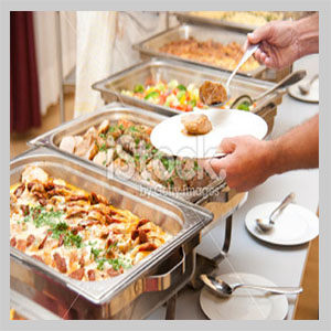 hot fork buffet catering london