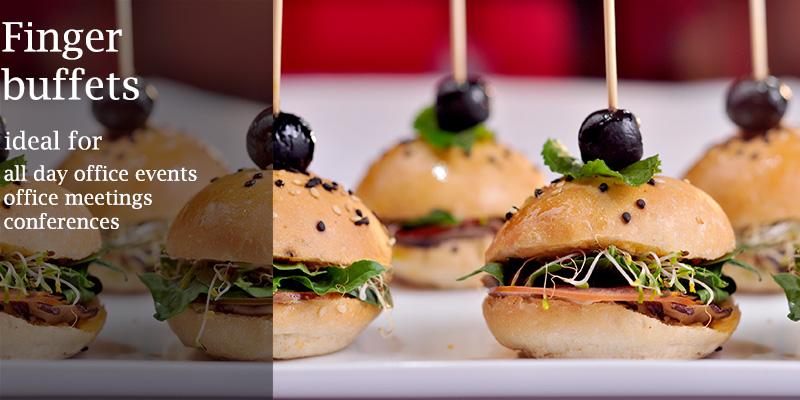 finger buffet catering menus