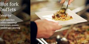 hot fork buffet catering menus