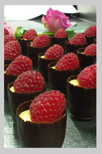 sweet canapes for wedding receptions