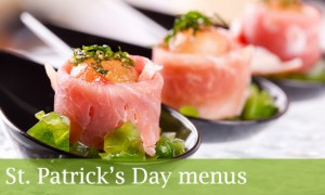canapes london for st patricks