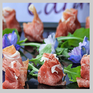 Canapes caterers all in hand catering london for Cold canape menu
