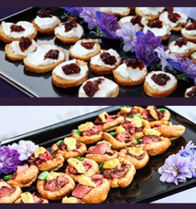 mobile london canapes catering