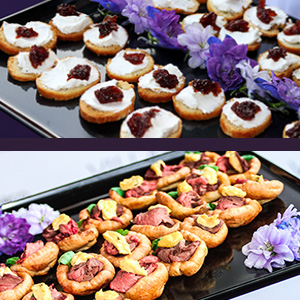 mobile canapes catering