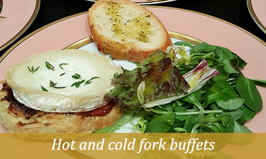 cold fork buffets catering