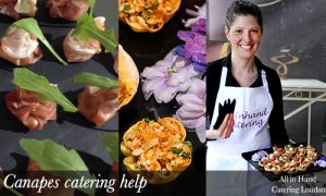 canapes catering help for corporates