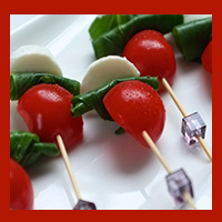 cold canapes catering for parties