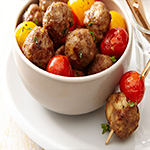 meatball hot canapes