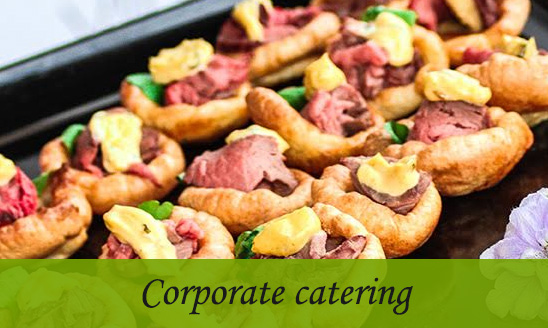 London corporate catering