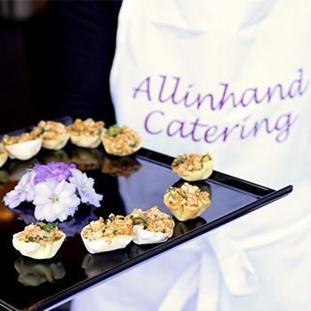cold canapes delivery in London