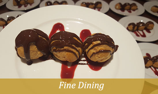 fine dining caterers
